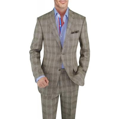 Mens Two Button Suit 2-piece Modern Fit - Image1