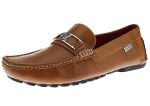 Mens Air Grant Bit Leather Shoes Slip-on Driving Moccasin Loafer Tan by Luciano Natazzi
