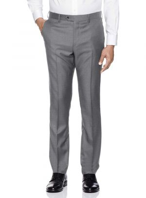 Mens Presidential Suit Separates Dress Pants Light Gray by Giorgio Napoli