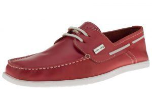 Rio Red Loafer 2 Eye Yacht Club Comfort Leather Boat Shoe