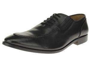 Black Slip-on Comfort Full Grain Leather Dress Shoes SL306