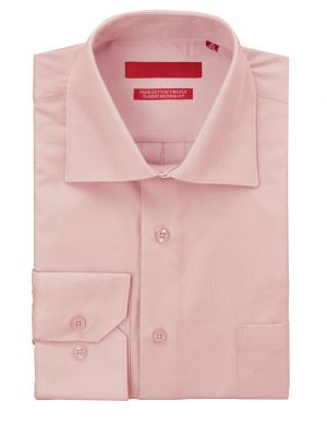 Mens GV Executive Dress Shirt Pure Cotton Spread Collar Barrel Cuff Light Pink by DTI DARYA TRADING