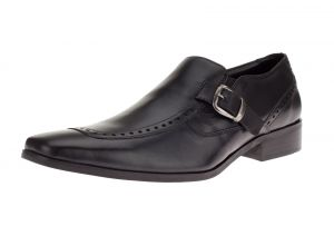 Mens GV Executive Leather Dress Shoe Celio Slip-On Loafer Black by DTI DARYA TRADING