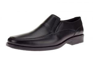 Black Slip-on Loafer Lenox Comfort Leather Dress Shoe