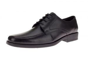 Black Lace-up Bradley Oxford Leather Dress Shoe