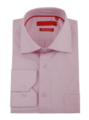 Mens GV Executive Modern Spread Collar Barrel Cuff Cotton Dress Shirt Light Pink by DTI DARYA TRADING