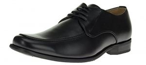 Mens Oxford Dress Shoes Florence Faux Leather Lace-up Tr693-3 Black by Darya Trading
