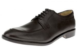 Black Lace-up Comfort Full Grain Leather Dress Shoes SL305