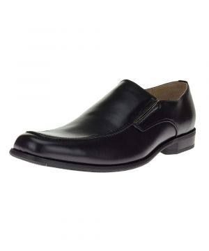 Black Slip-on Business Faux Leather Dress Shoes TR693-5