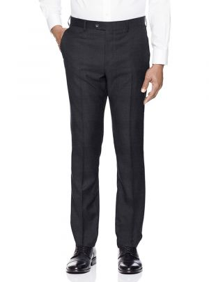 Mens Presidential Suit Separates Dress Pants Charcoal by Giorgio Napoli