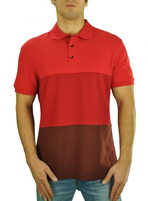 Mens Royal Classic Fit Fashion Pique Polo Sport Shirt Red by Darya Trading