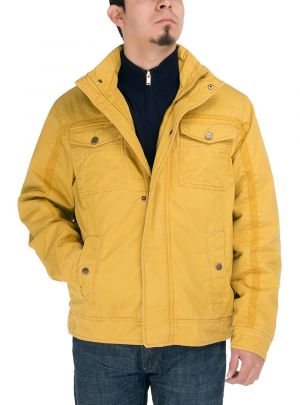 Mens Light Weight Cotton Lightly Thermal Padded Jacket Mais by Luciano Natazzi