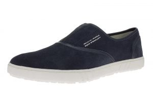 Mens GV Executive Alfonso Leather Shoes Fashion Slip-On Sneaker Navy by DTI DARYA TRADING