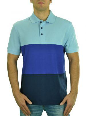 Mens Royal Classic Fit Fashion Pique Polo Sport Shirt Navy Blue by Darya Trading