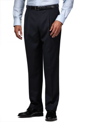 Mens Suit Dress Pants Separates Slacks Pleated Trouser Charcoal by Darya Trading