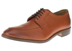 Tan Burnish Lace-up Comfort Full Grain Leather Dress Shoes SL305